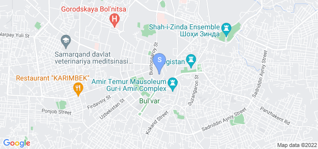 Location of Ishonch on map