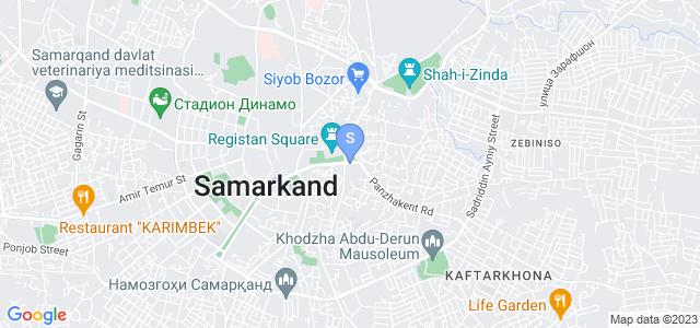 Расположение гостиницы Арк на карте
