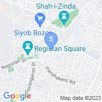 Расположение гостиницы Абду - Баходир 2 на карте