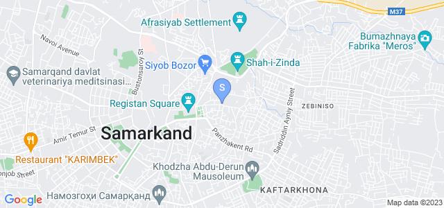 Location of Najiba on map