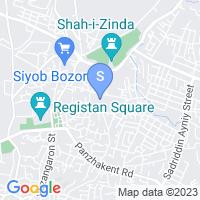 Расположение гостиницы Легенда на карте