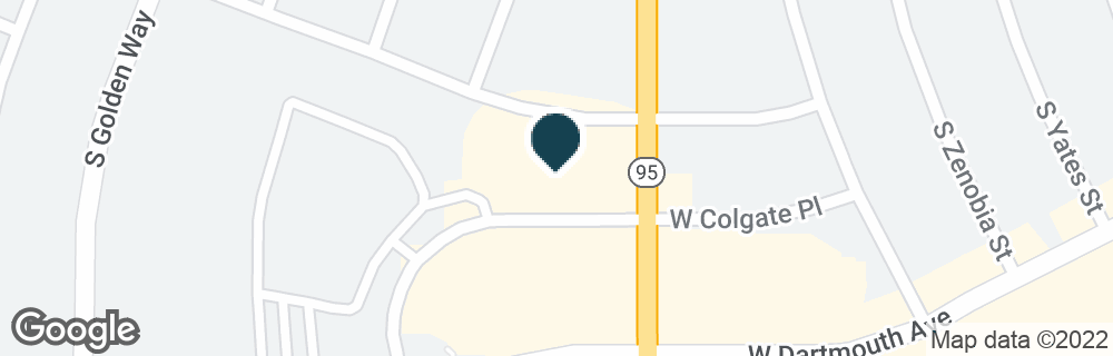 Google Map of3067 S SHERIDAN BLVD