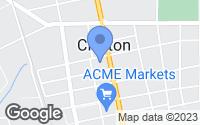 Map of Clayton, NJ