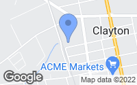 Map of Clayton, NJ