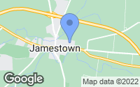 Map of Jamestown, OH