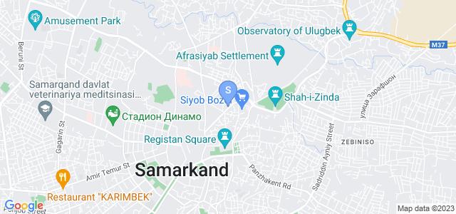 Location of Al Buxoriy on map