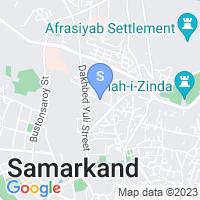 Расположение гостиницы Караван Сарай на карте