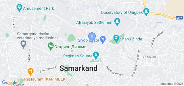 Location of Caravan Serail on map