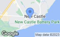Map of New Castle, DE