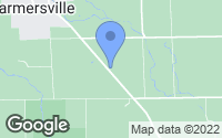 Map of Farmersville, OH