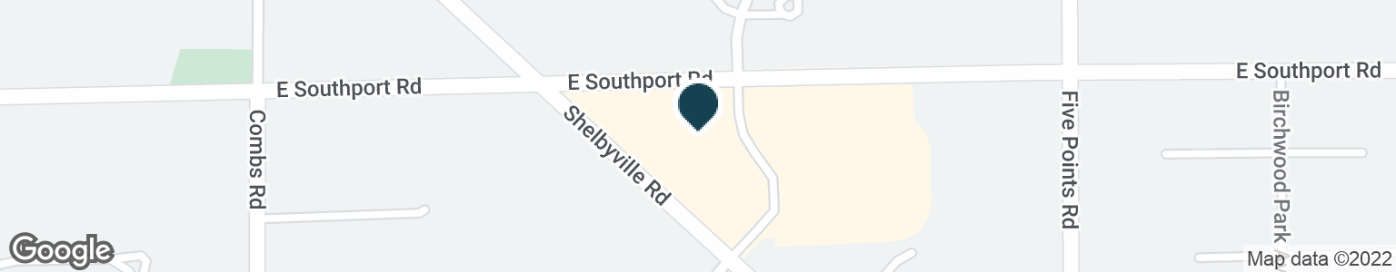 Google Map of6745 E SOUTHPORT RD