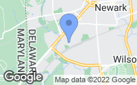 Map of Newark, DE