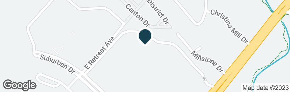 Google Map of216 SUBURBAN DR