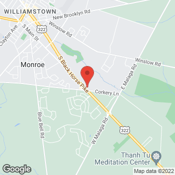 Map of Rite Aid at 1434 S Black Horse Pike, Williamstown, NJ 08094