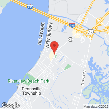 Map of Verizon Authorized Retailer - TCC at 269 N Broadway, Pennsville, NJ 08070
