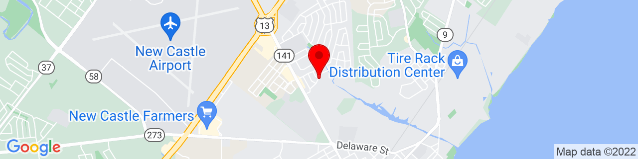 Google Map of 39.6728906, -75.581314