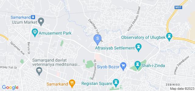 Location of Uzbegim Plaza on map