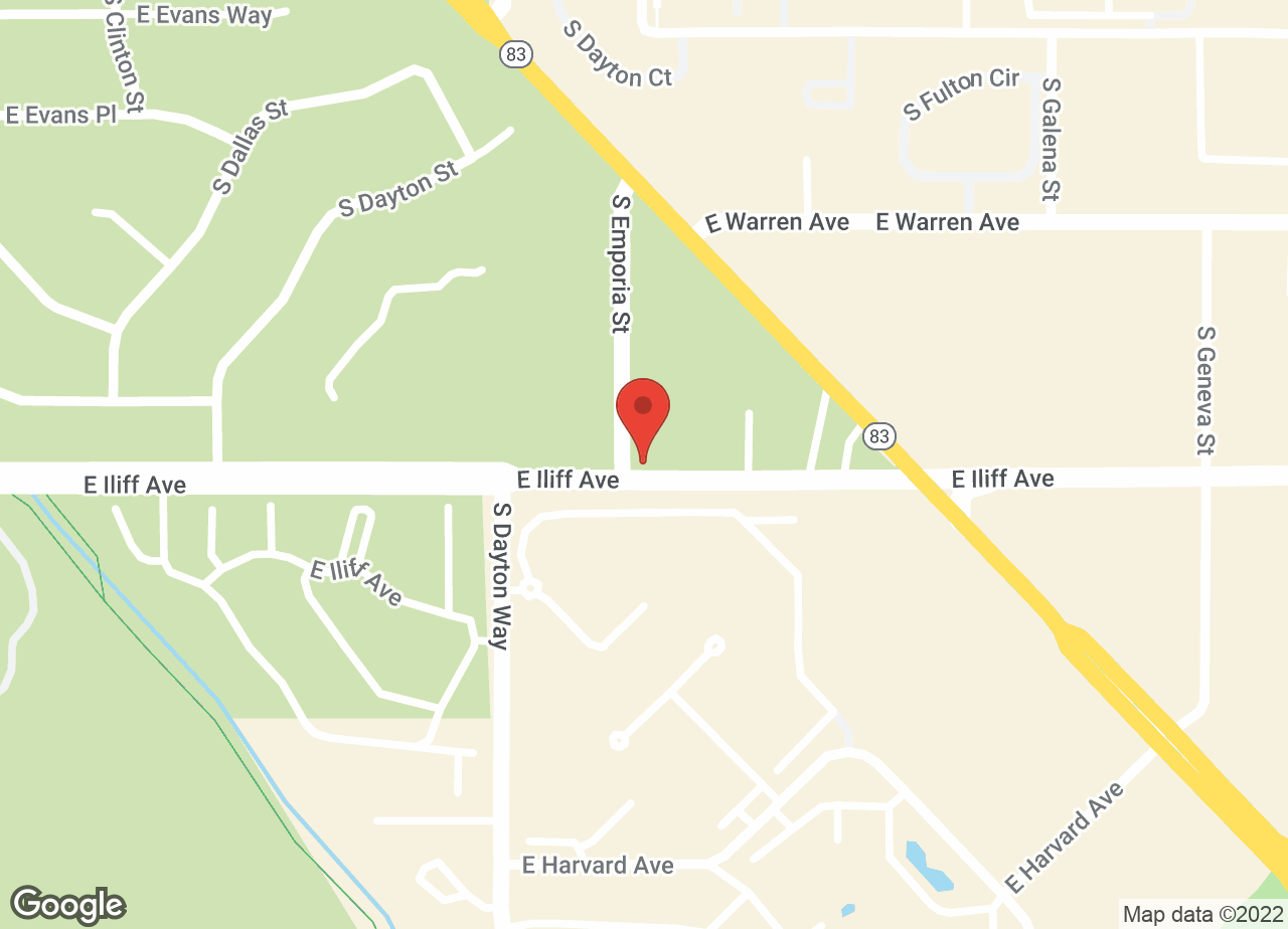 Google Map of VCA Southeast Area Animal Hospital