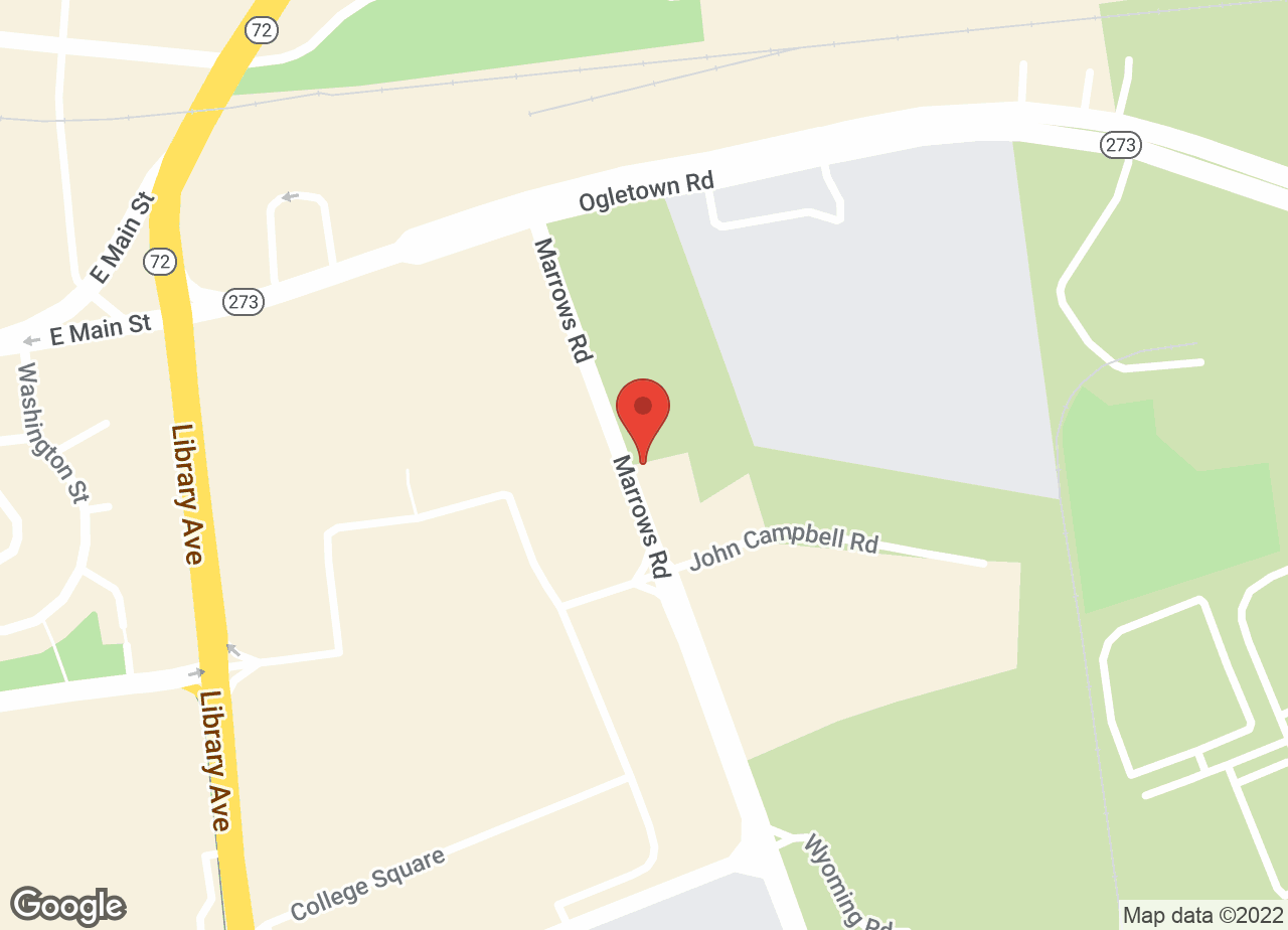 Google Map of VCA Newark Animal Hospital