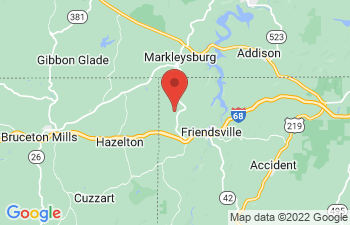 Map of Friendsville