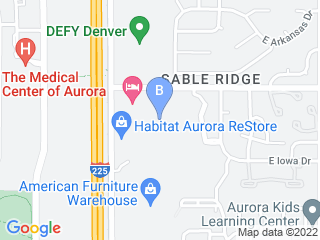 Map of Camp Bow Wow Dog Boarding Aurora Dog Boarding options in Aurora | Boarding