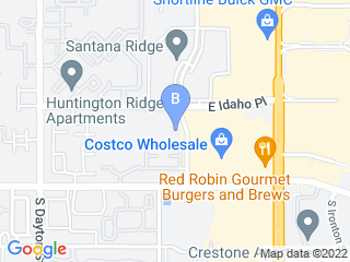 Map of My Denver Pet LLC Dog Boarding options in Denver | Boarding