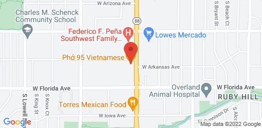 Directions to Phở 95 Vietnamese Restaurant