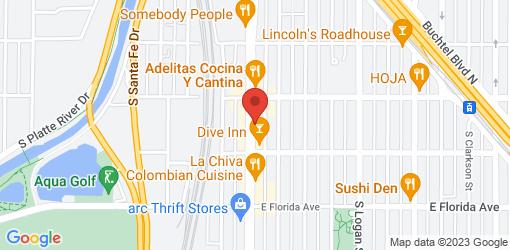 Directions to Piante Pizzeria - Denver