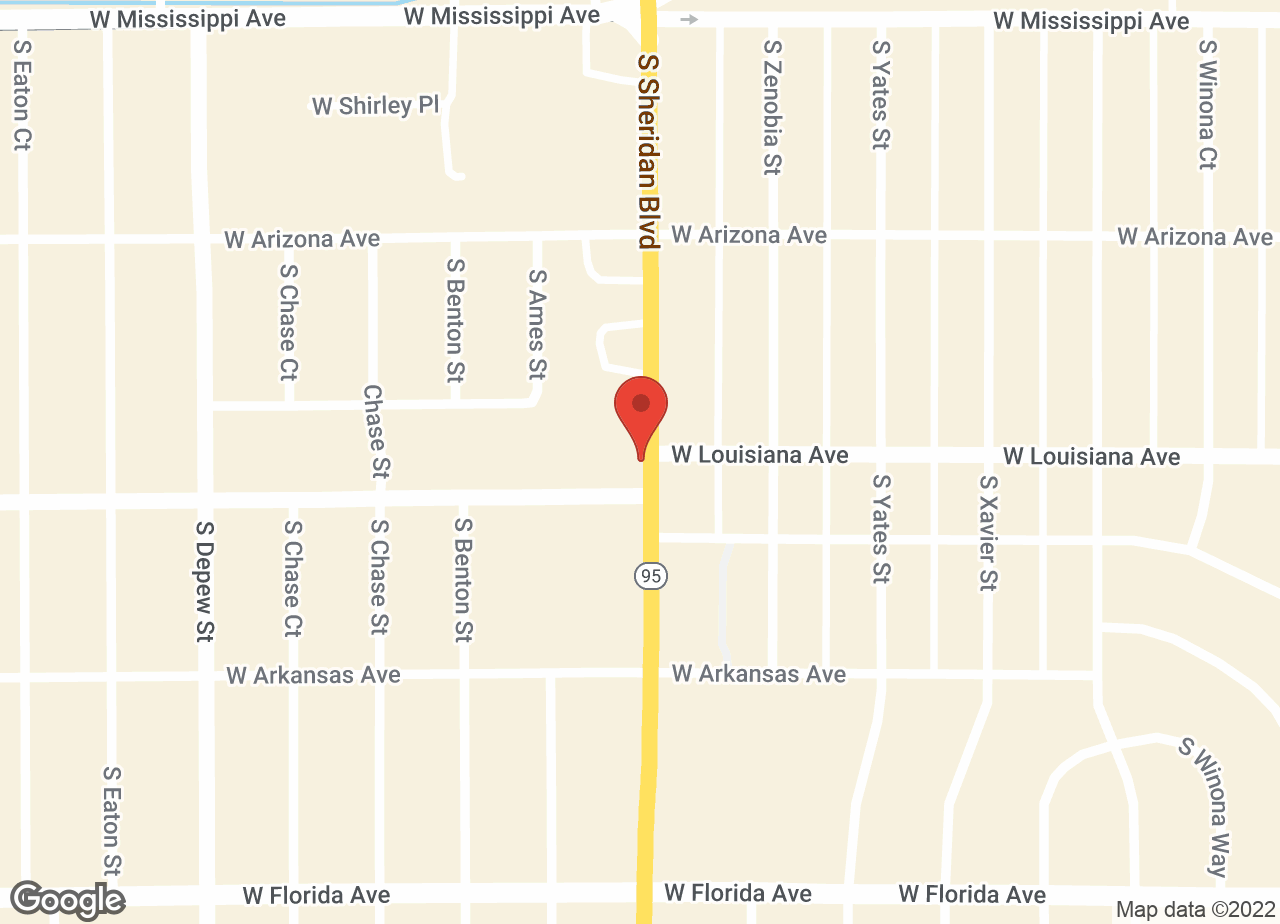 Google Map of VCA Anderson Animal Hospital