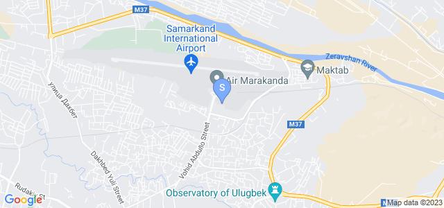 Расположение гостиницы Регал Палас на карте