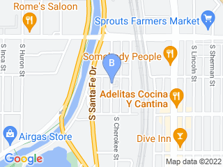 Map of Camp Bow Wow Dog Boarding Denver Dog Boarding options in Denver | Boarding