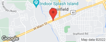 Map of 203 W Main St in Plainfield