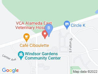 Map of Animal Lodge Dog Boarding options in Denver | Boarding