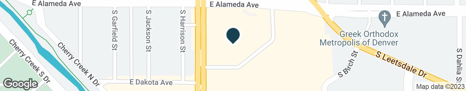 Google Map of360 S COLORADO BLVD