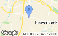 Map of Beavercreek, OH