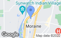 Map of Moraine, OH