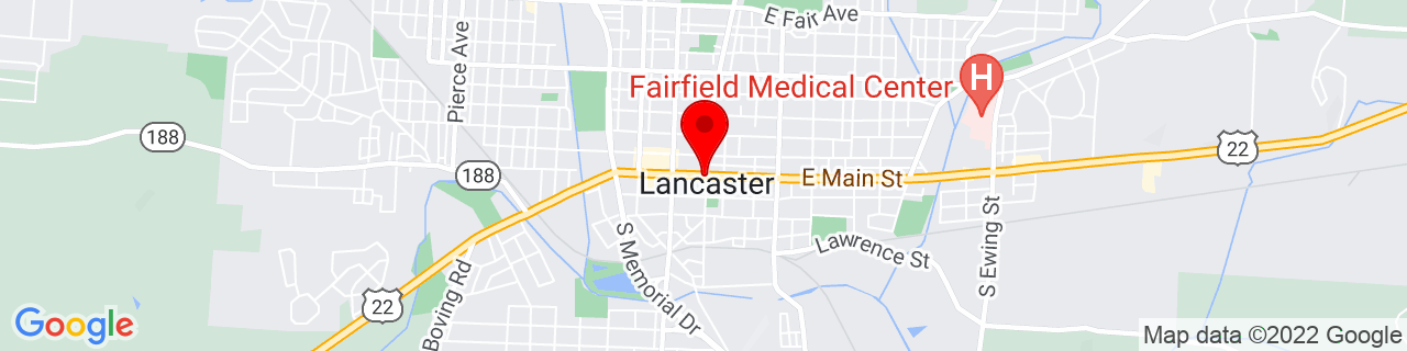 Google Map of 39.71361111111111, -82.59944444444444