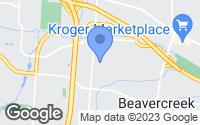 Map of Beavercreek, OH