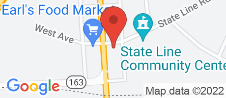 Branch Location Map - BB&T, State Line Branch, 15762 Pennsylvania Avenue, S, State Line PA