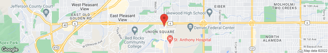Map of 565 Union Blvd. in Lakewood