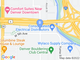 Map of Preppy Pet Denver Dog Boarding options in Denver | Boarding