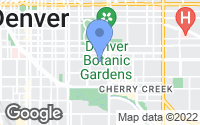 Map of Denver, CO