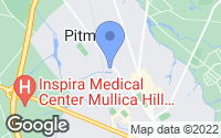 Map of Pitman, NJ