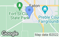 Map of Eaton, OH