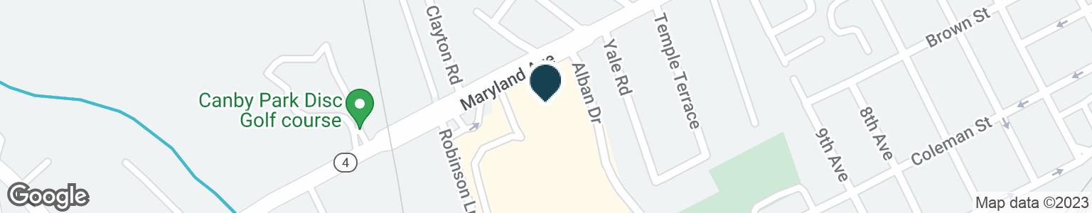 Google Map of1900 MARYLAND AVE