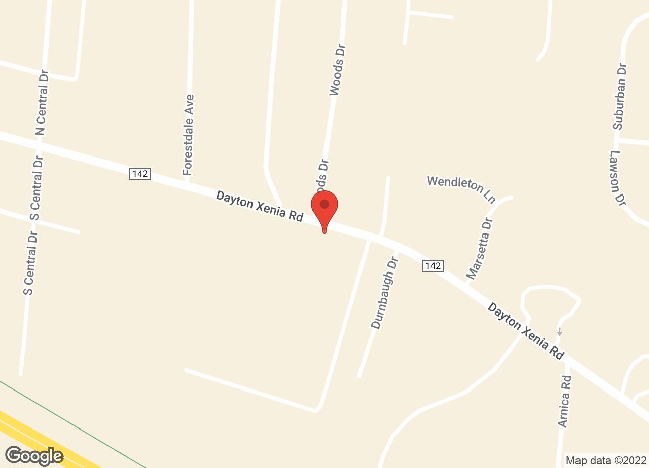 Google Map of VCA Beavercreek Animal Hospital