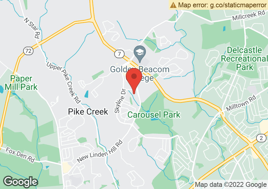Google Map of 4575 NEW LINDEN HILL RD
