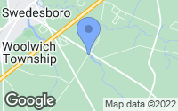 Map of Woolwich Township, NJ