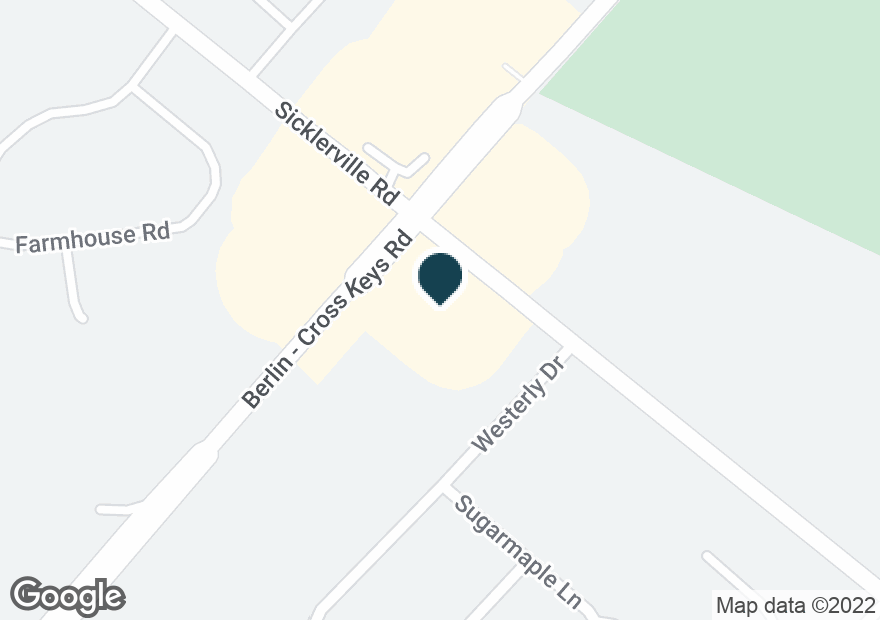 Google Map of590 CROSS KEYS RD