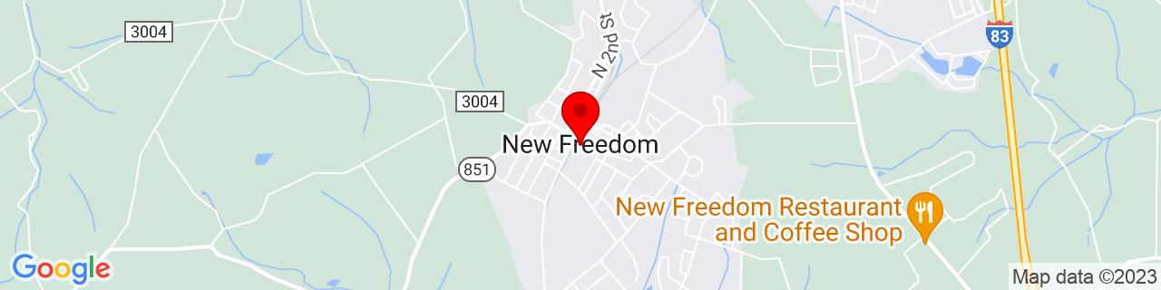 Google Map of 39.73777777777778, -76.70138888888889